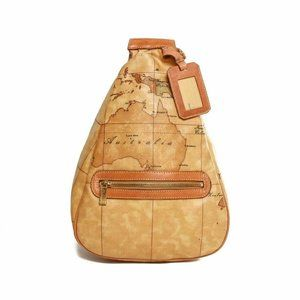 Alviero Martini Classe world map sling body bag
